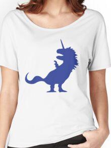 Unicorn T-Rex Women's Relaxed Fit T-Shirt