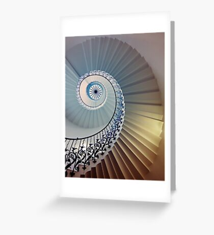 Tulip Staircase (Color) Greeting Card