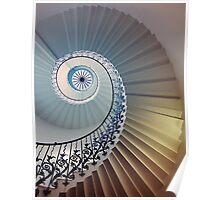Tulip Staircase (Color) Poster