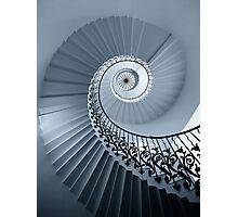 Tulip Staircase (Mono) Photographic Print