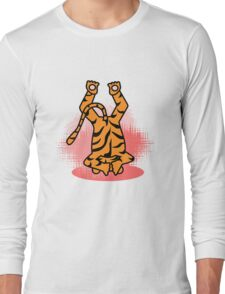 Yogic Tiger Long Sleeve T-Shirt