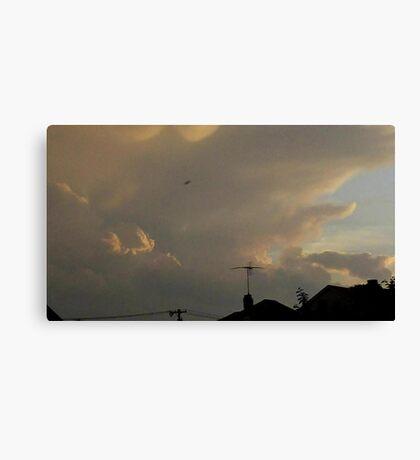 May 5 2012 Storm 11 Canvas Print
