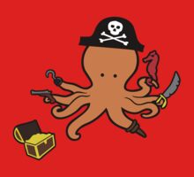 Pirate Octopus Kids Clothes