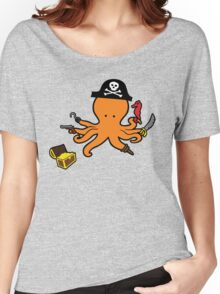 Pirate Octopus Women's Relaxed Fit T-Shirt