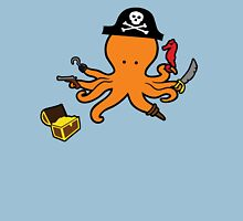 Pirate Octopus Unisex T-Shirt