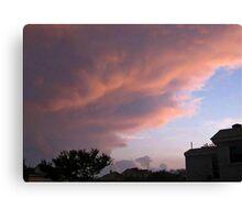 May 5 2012 Storm 16 Canvas Print