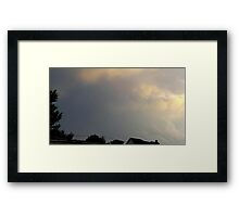May 5 2012 Storm 23 Framed Print