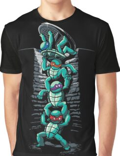 Turtles Night Out Graphic T-Shirt