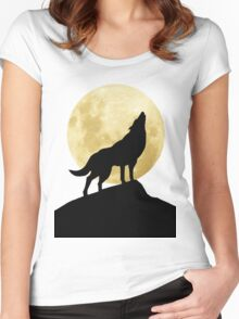 She-Wolf Women's Fitted Scoop T-Shirt