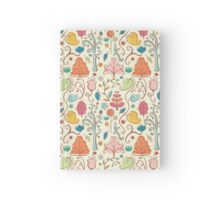 Plant Pattern Color 3 Hardcover Journal