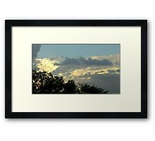 May 5 2012 Storm 45 Framed Print
