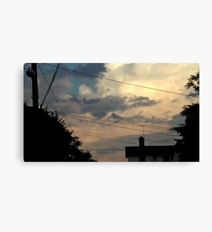 May 5 2012 Storm 50 Canvas Print