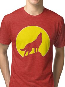 She-wolf inverted Tri-blend T-Shirt