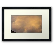 May 5 2012 Storm 60 Framed Print