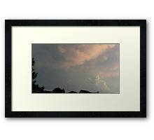 May 5 2012 Storm 71 Framed Print