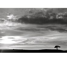 big sky Photographic Print