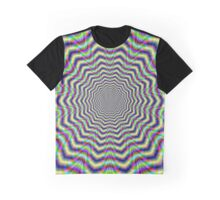 Psychedelic Web Star Graphic T-Shirt