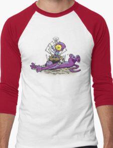 Furry Flea Bitten Fool Men's Baseball ¾ T-Shirt