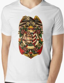 Spitshading 001 Mens V-Neck T-Shirt