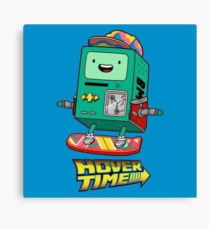 Hover Time Canvas Print