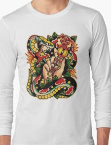 Spitshading 005 Long Sleeve T-Shirt