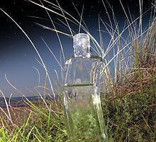 moon shine bottle by morrbyte