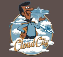 Welcome to Cloud City Baby Tee