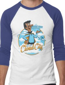 Welcome to Cloud City Men's Baseball ¾ T-Shirt