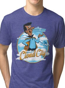 Welcome to Cloud City Tri-blend T-Shirt