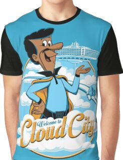 Welcome to Cloud City Graphic T-Shirt
