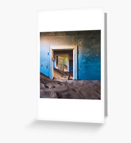 Forgotten Doorway Greeting Card