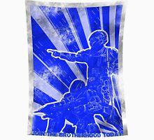 FC BLUE Army Propaganda (Weathered) T-Shirt