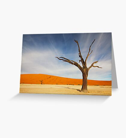 Deadvlei Greeting Card