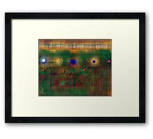Industrial Abstract 7  Framed Print