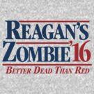 Reagan's Zombie 2016 by LibertyManiacs