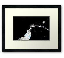 Splash of Water Framed Print