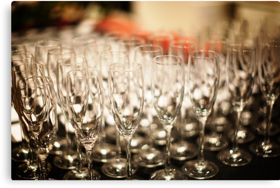 Champagne Glasses by muzy