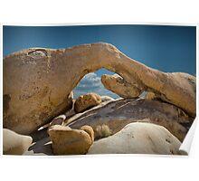 Rock Arch near Joshua Tree No 0294 Poster