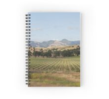 California vineyard Spiral Notebook