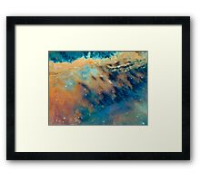 Tiger's Tail Nebula Framed Print