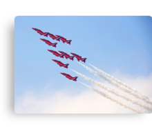Red Arrows - Reach for the Sky Canvas Print