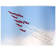 Red Arrows - Reach for the Sky Poster