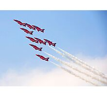 Red Arrows - Reach for the Sky Photographic Print