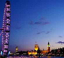 View over the Thames by destinyrko
