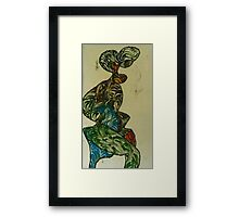 The foolish woman Framed Print