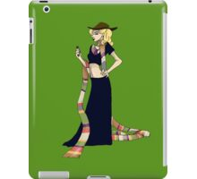 River Song and the Fourth Doctor iPad Case/Skin