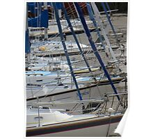 Boats in Ilfracombe Harbour Poster