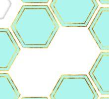 Hexagold Sticker