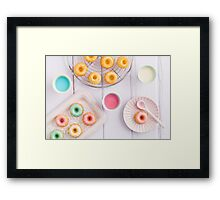 Mini bundt cakes Framed Print