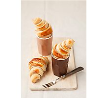 Small croissants Photographic Print